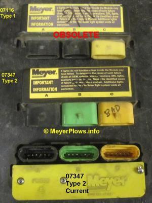 MeyerPlowsinfo  Meyer Headlight Changeover Module Information