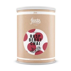 Fonte Raspberry Chay Latte Meza Coffee