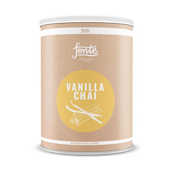 Fonte Vanilla Chai Latte Meza Coffee