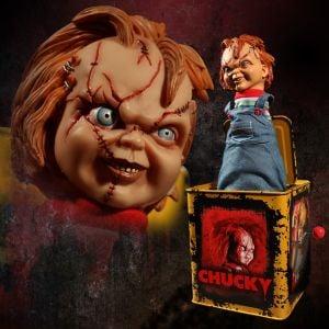 Burst-A-Box Scarred Chucky