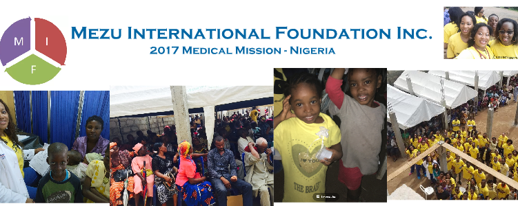 2017 Humanitarian Mission Summary – NIGERIA