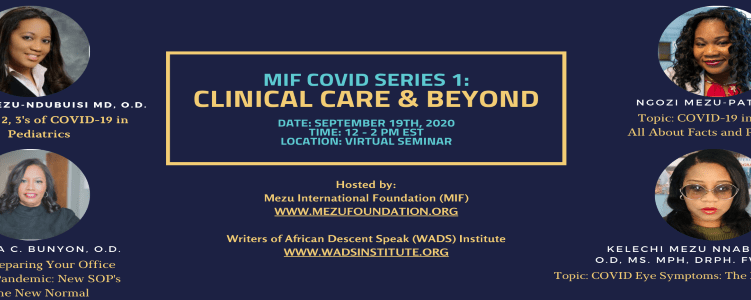 MIF Covid Series 1: Clinical Care & Beyond