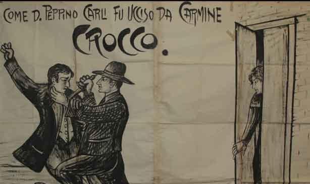 illustrazione del brigante Carmine Crocco