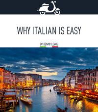 Why Italian Is Easy