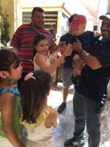 Learning Arabic from Iraqi refugees in Jordan