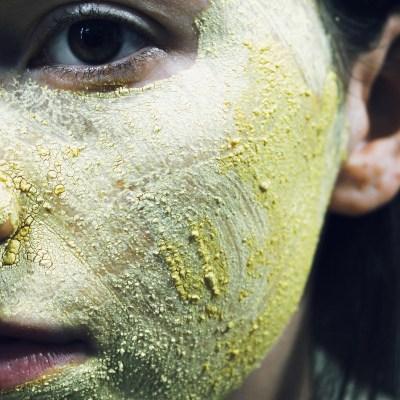 Yellow Beauty Turmeric Face Mask