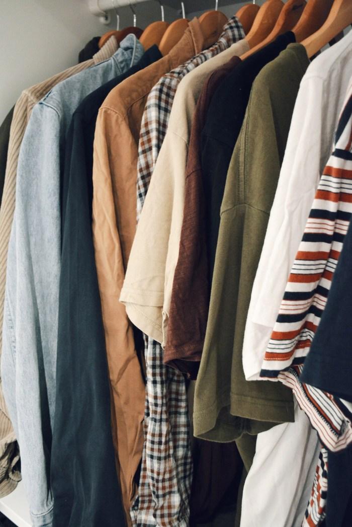 Ethical mens wardrobe