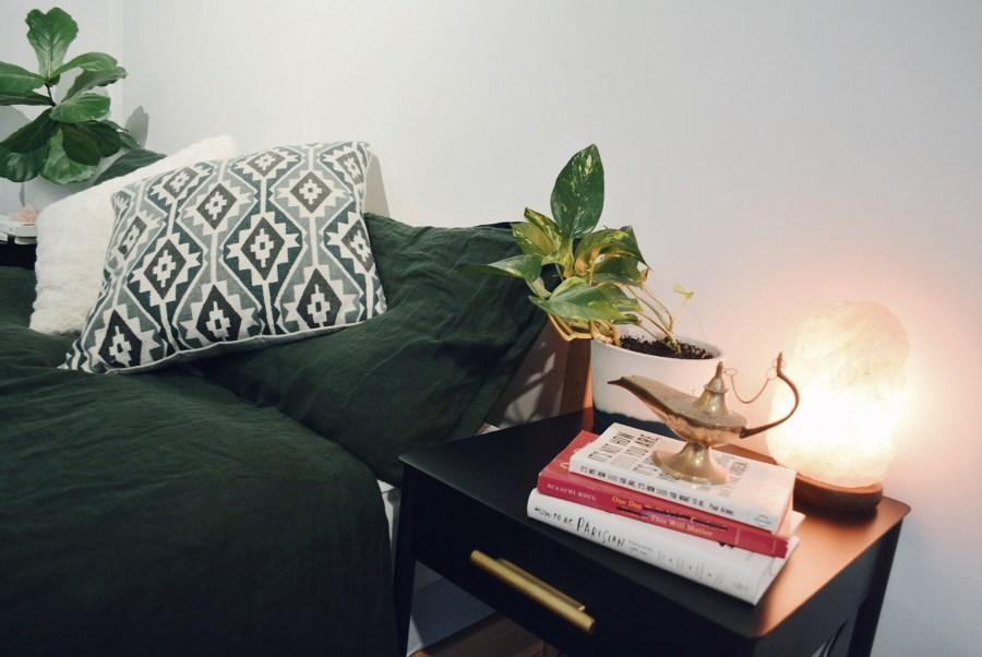 Eco home bedroom