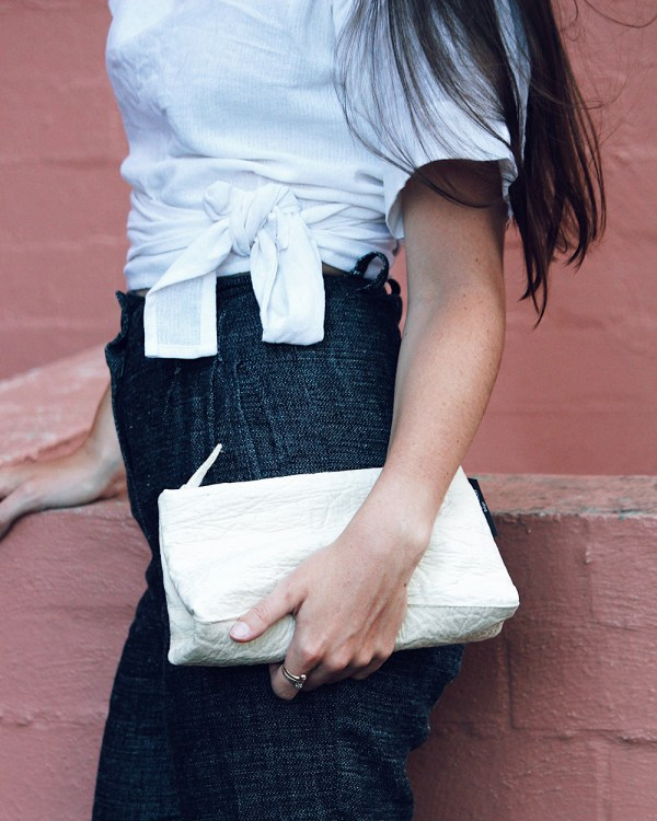 Ethical Piñatex Clutch