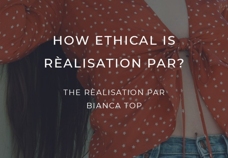 How Ethical Realisation Par