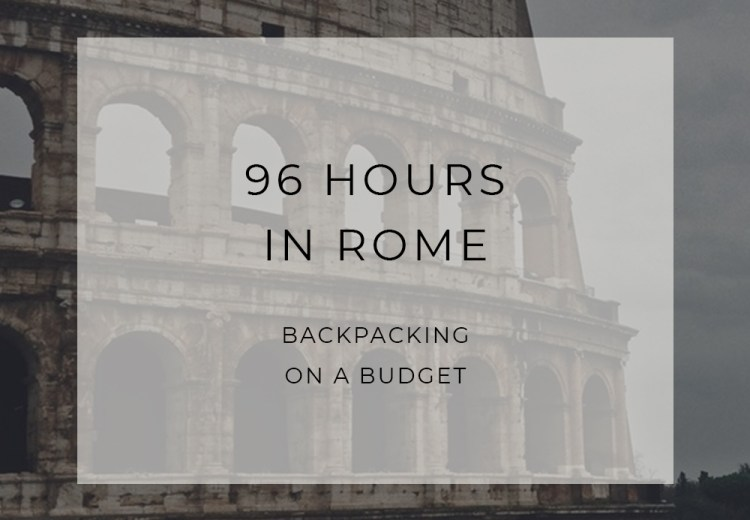 Sustainable Travel Rome Italy