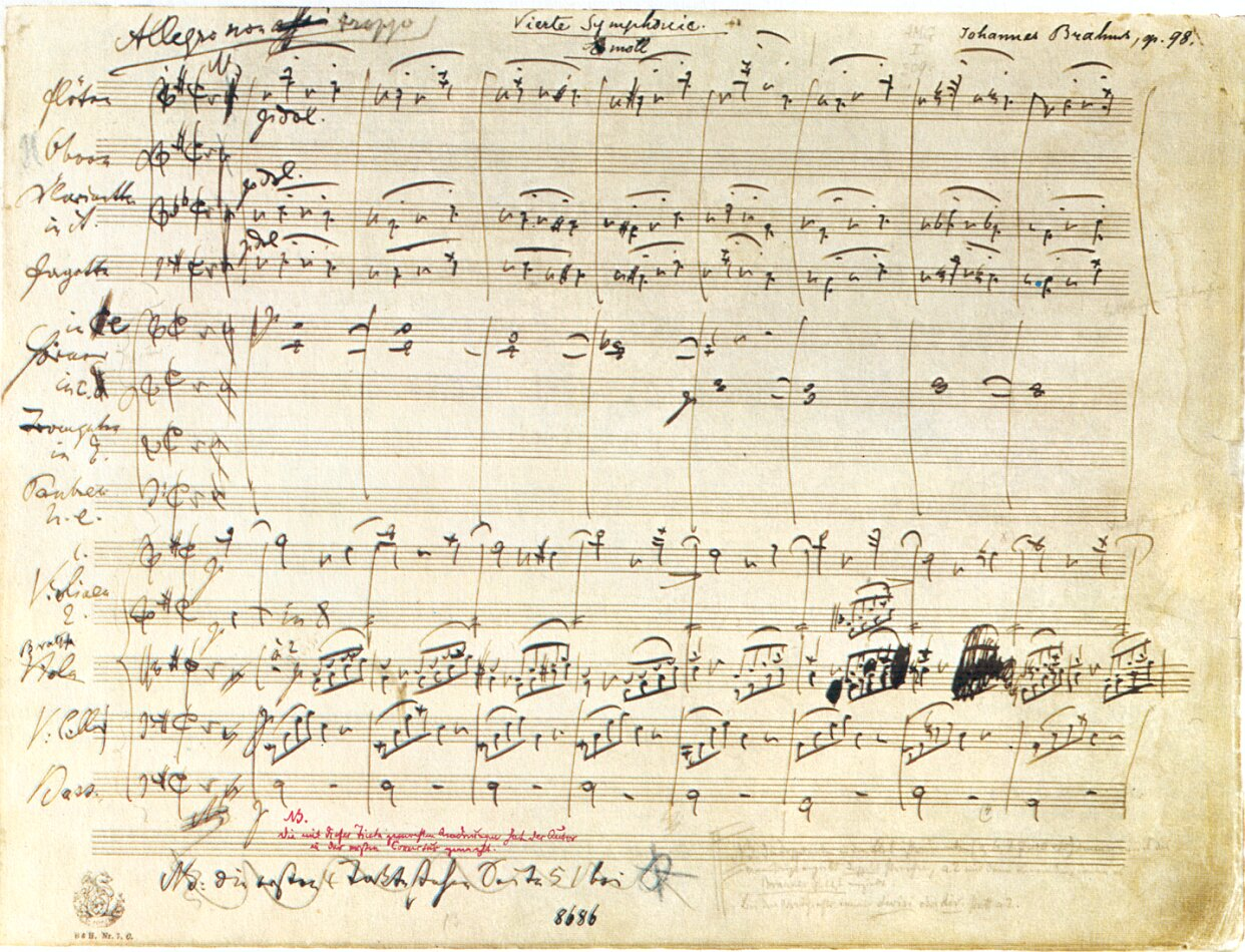 Image result for sibelius symphony manuscript score
