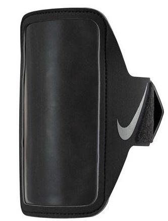 Puzdro na mobil Nike Equipment Lean Arm Band PLUS Čierna