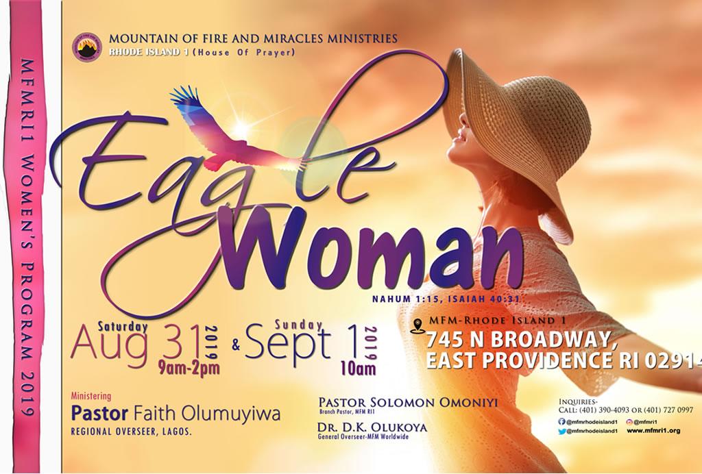 Women's Program 2019- Eagle Woman