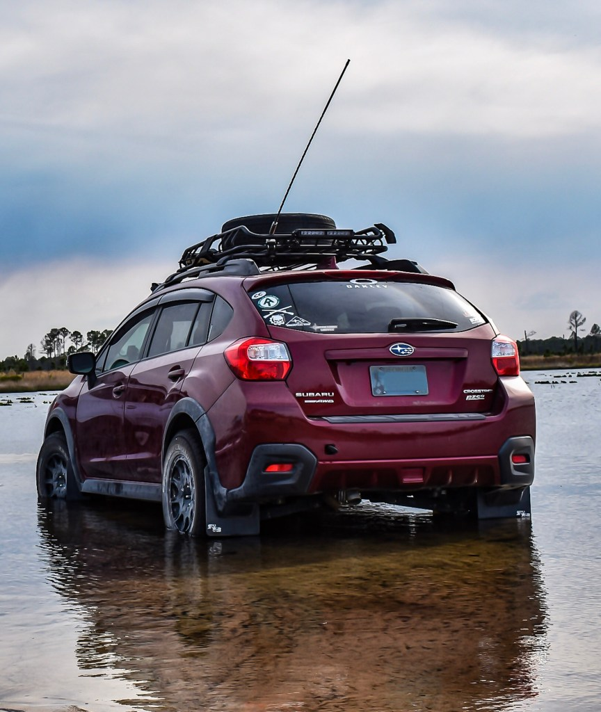 Driver of the Day: Alex Groene's Desert-Roaming 2016 Subaru