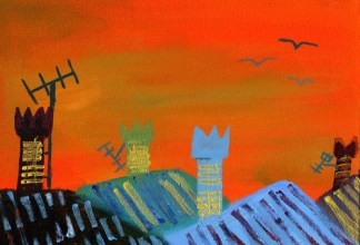 Over the Rooftops by Rosaleen Moriarty-Simmonds OBE