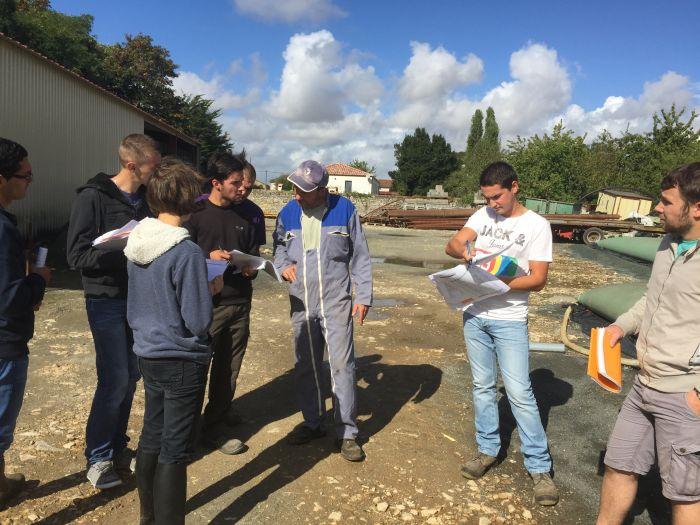 Les Techniciens Agricoles préparent l'examen