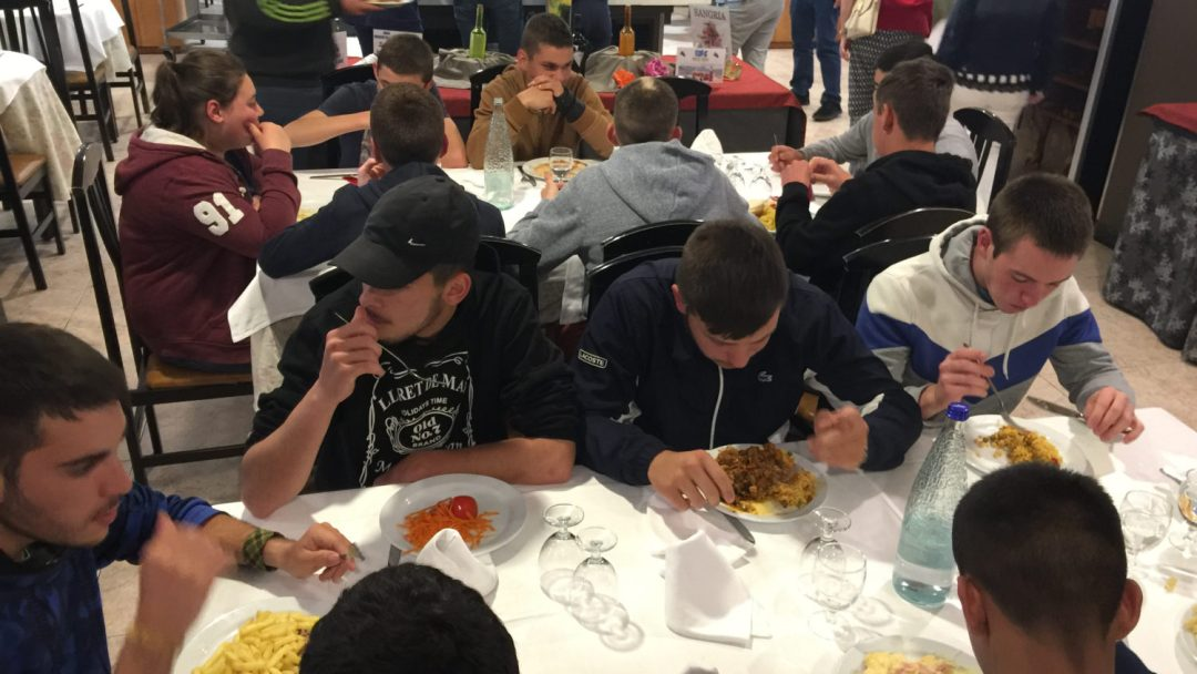 Diner et début veillée Barcelone (4)