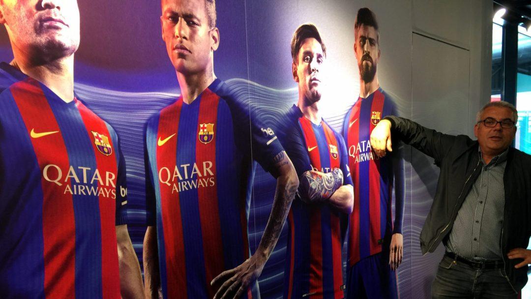 Visite du Camp Nou Barcelone (1)