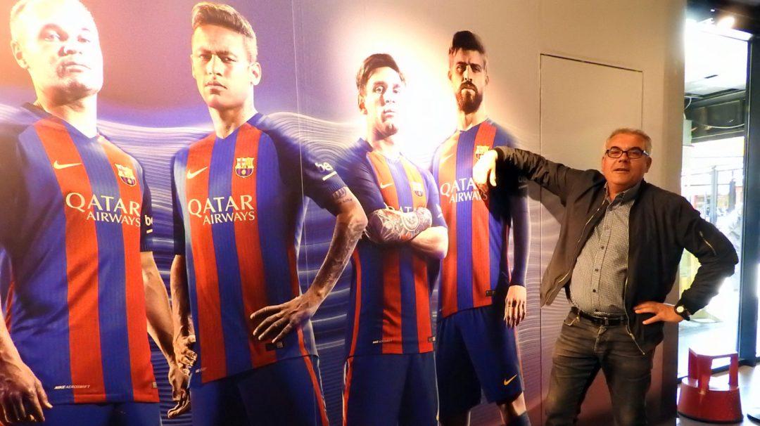 Visite du Camp Nou Barcelone (3)