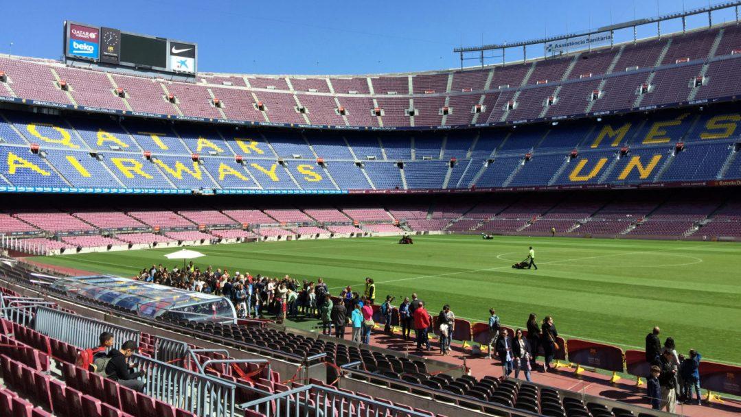 Visite du Camp Nou Barcelone (9)