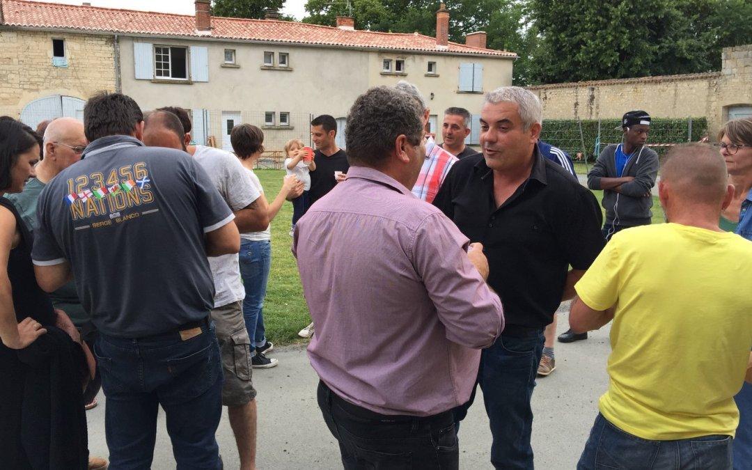 La fête des voisins au CFA MFR Puy-Sec