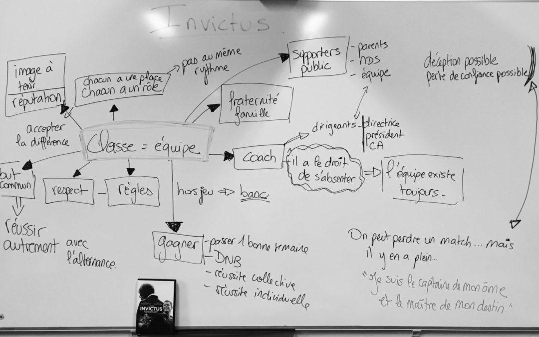 Invictus et la métaphore du rugby