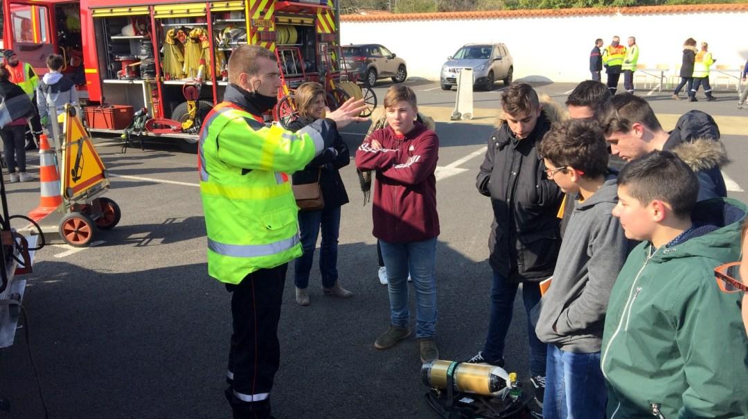 Animation Projet Pompiers BTS Bel-Air CFA MFR Puy-Sec (28)