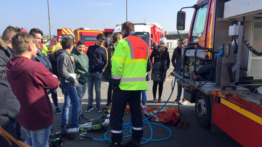Animation Projet Pompiers BTS Bel-Air CFA MFR Puy-Sec (32)