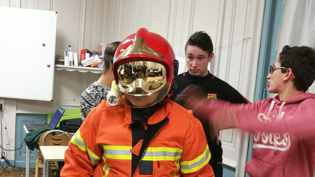 Présentation Pompiers sécurité Camille Planson et Jules CHOYEAU