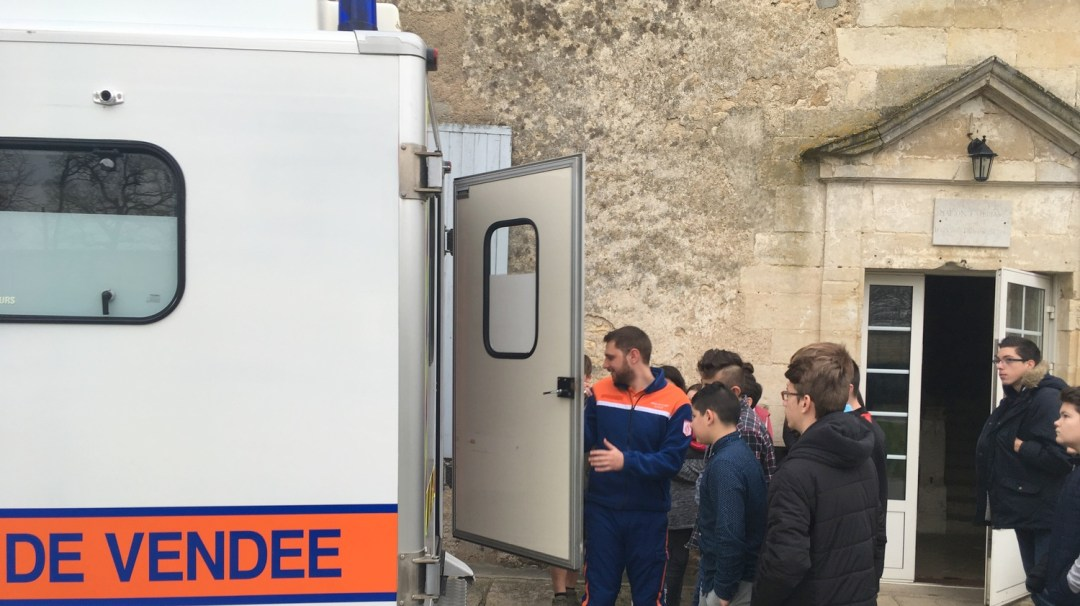 Intervention sécurité protection civile Vendée fontenay-le-comte