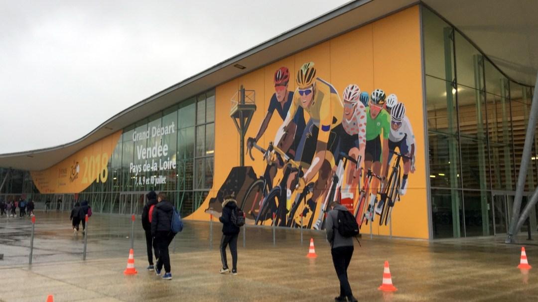 Au Tour Du Vélo Vendéspace Mars 2018 3è CFA MFR PuySec Vendée Tour de France
