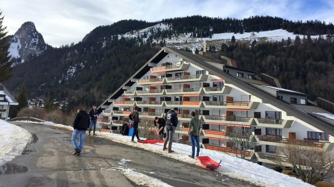Luge au pays des spécialités suisse TA CFA MFR Puy-Sec Mars 2018 (8)
