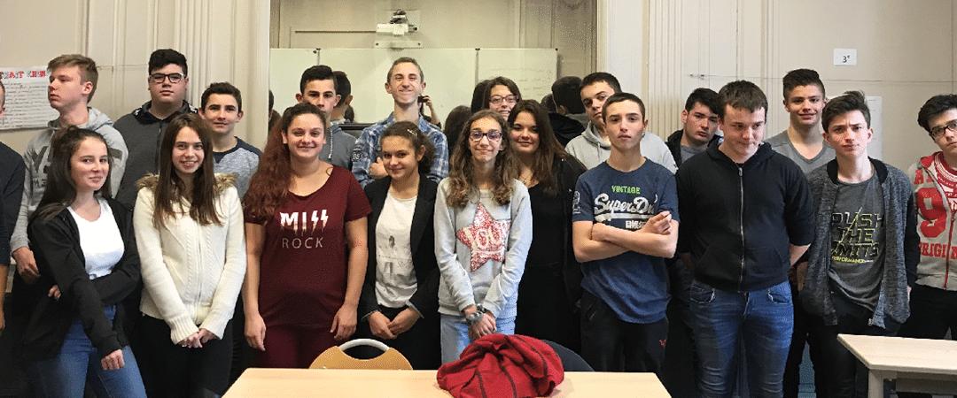 Voyage d'études en Auvergne pour les 3e de la MFR Puy Sec