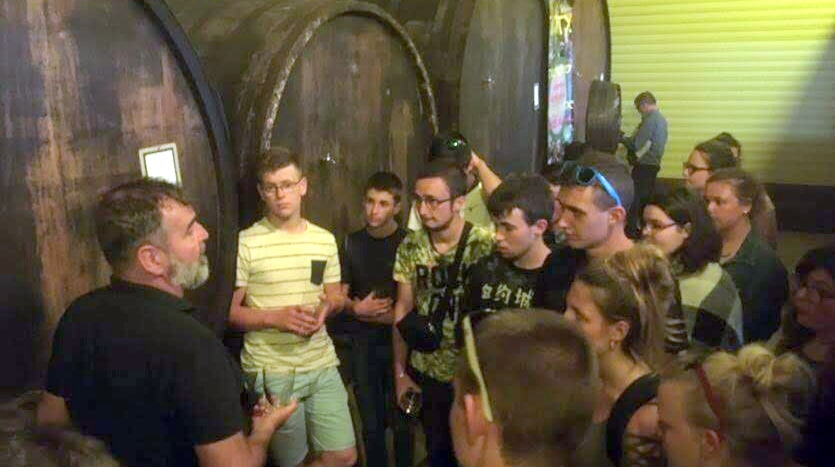 Visite Cidrerie Pays-Basque VE 2018