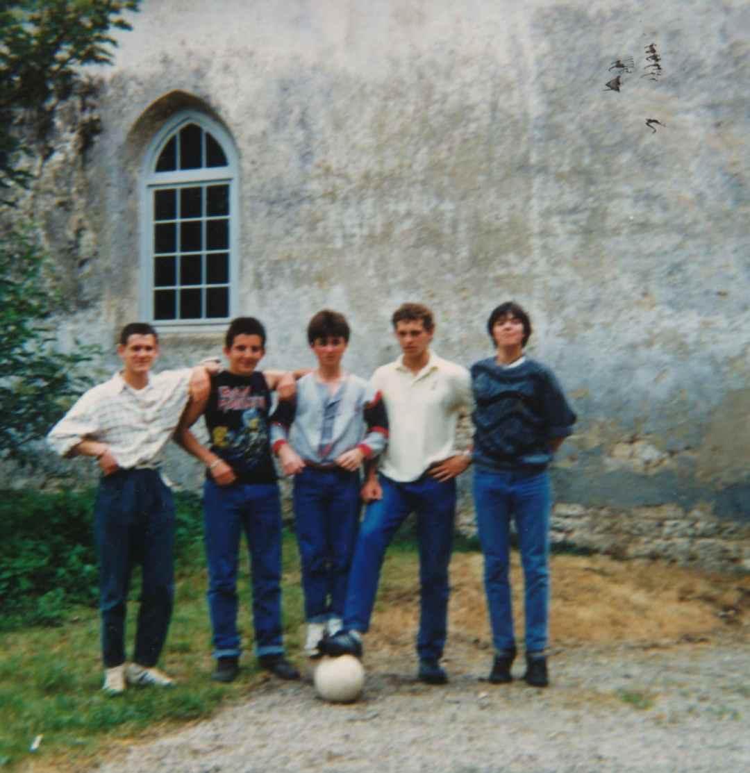 Eric RAVARD et ses copains