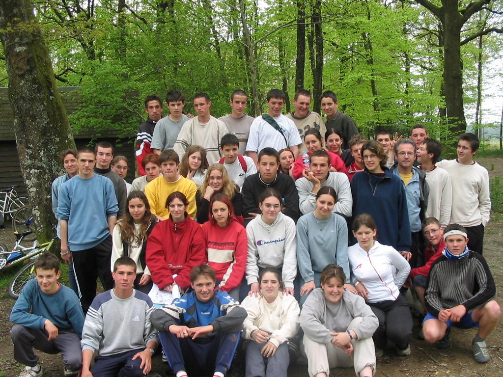 Archives anciens élèves mfr puy-sec 2001 VE