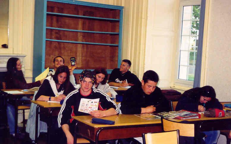 Archives anciens élèves mfr puy-sec 2001
