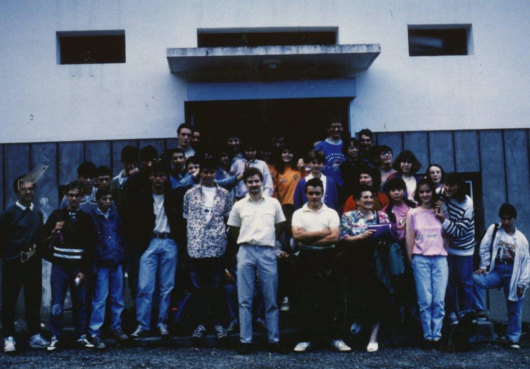 Archives anciens élèves mfr puy-sec 1989 Huguette BERLAND Maîtresse de Maison