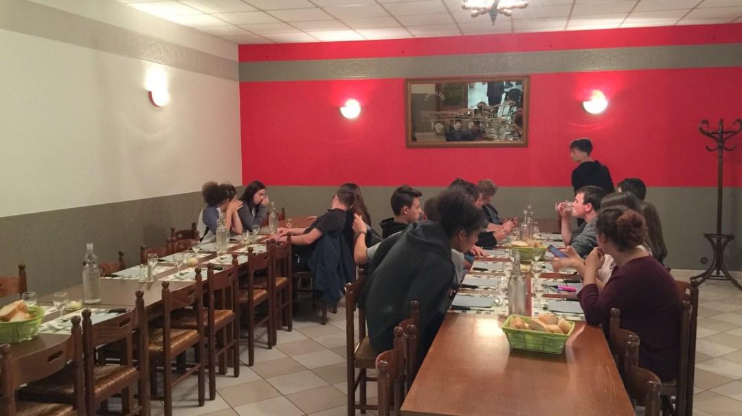 Repas Confolens VE Auvergne 2018