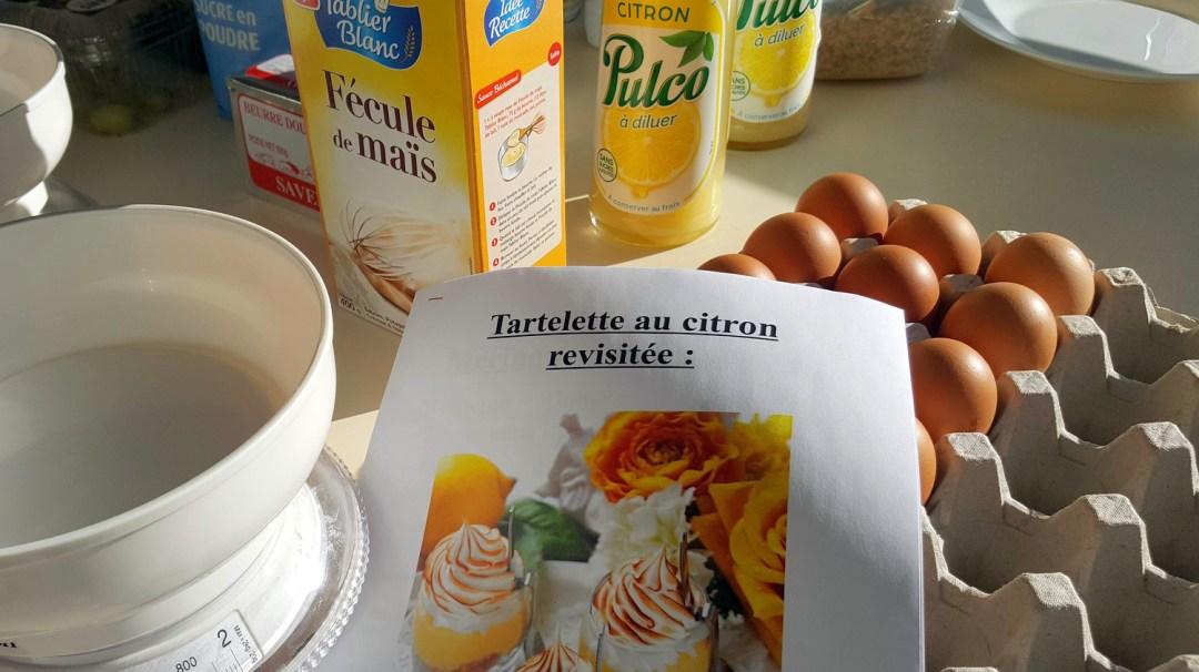 Atelier Patisserie J2 tarte au citron revisitée CFA MFR Puy-Sec Formations Adultes (1)