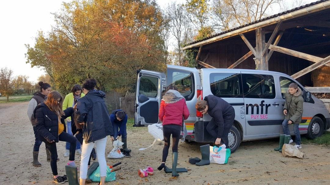 Ecurie du Marais Parc du Marais Poitevin novembre 2018 Maraîchins (1)