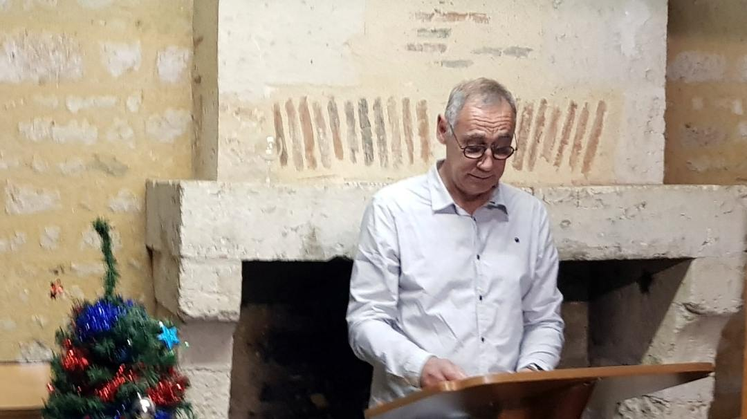 Mot de départ de Gérard VERGNAUD