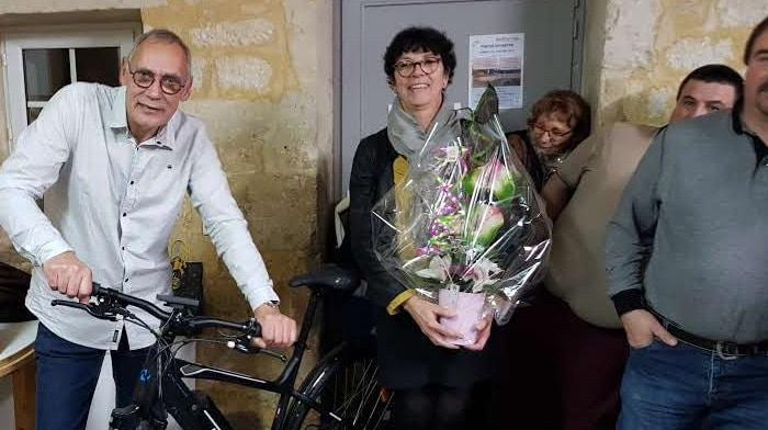 L'épouse de Gérard VERGNAUD est aussi remerciée
