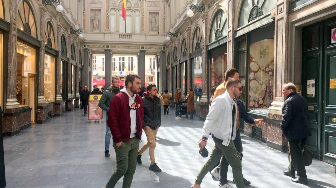 Des vendéens bien décidés à Bruxelles Belgique 2019