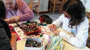 le secours catholique et ses ateliers décoration