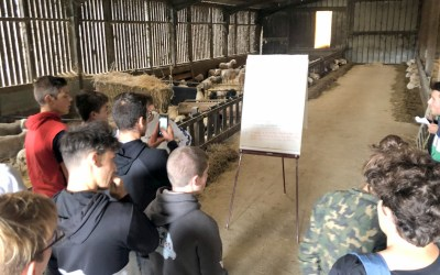 Cap1 Ma et les TA à la découverte d'élevages CAVAC