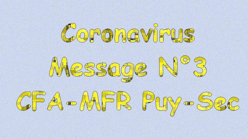 Message 3 coronavirus mfrpuysec
