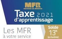 Taxe d'apprentissage 2020 MFR