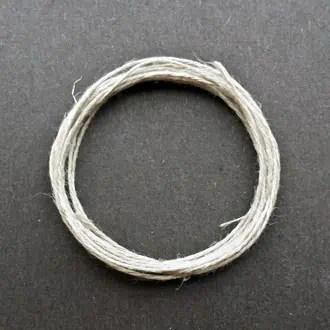 A coil of 3-ply hemp.